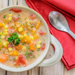 Very Veggie Quinoa Chowder
