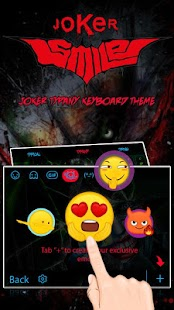 Joker Smile Theme&Emoji Keyboard - náhled