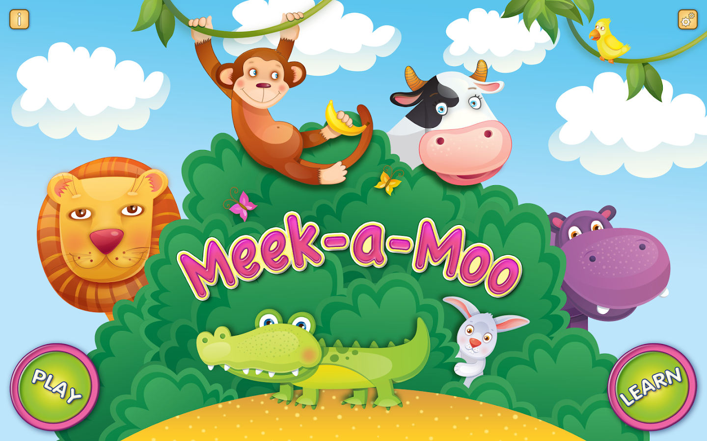 Meek-a-Moo: Learn & Play- screenshot