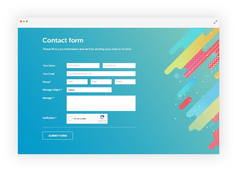 Choose the Best Contact Form Builder/Plugin