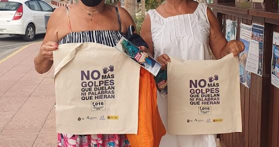 Continúa la campaña de sensibilización contra la violencia de género en Pulpí