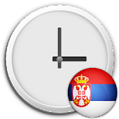 Serbia Clock & RSS Widget