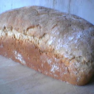 Light Bran Oat Bread Loaf.