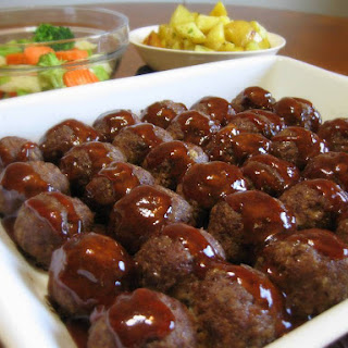 Sweet and Sour Venison Meatballs.