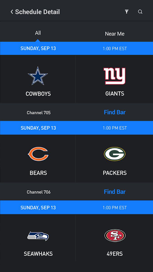 Sports Bar Finder- screenshot