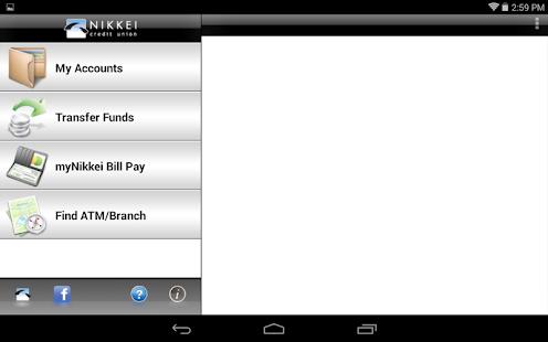 Nikkei Mobile Banking Tablet - screenshot thumbnail