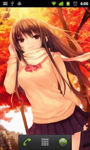 autumn anime scenery lwp screenshots 2