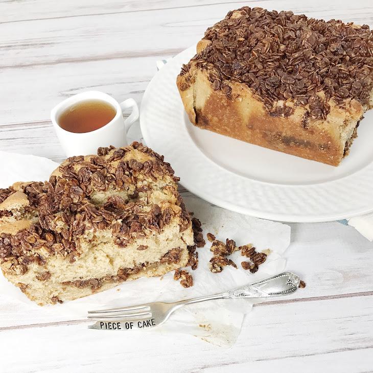 Vanilla Maple Granola Loaf Cake Recipe