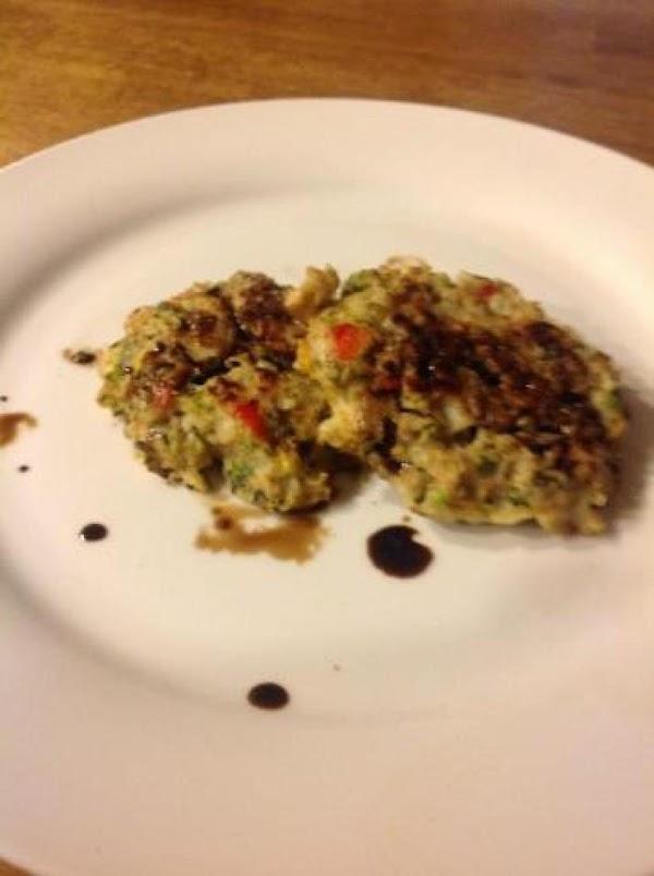Cauliflower-zucchini Patties Recipe