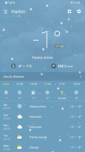 Weather Forecast 2.3.32 screenshots 3