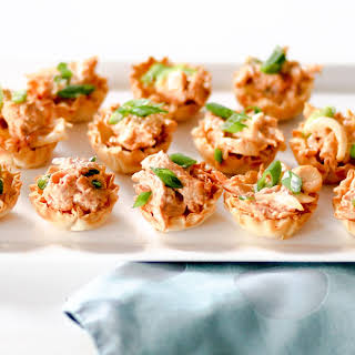 Spicy Chicken Canapés.