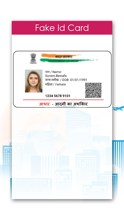 Fake ID Card Maker- screenshot