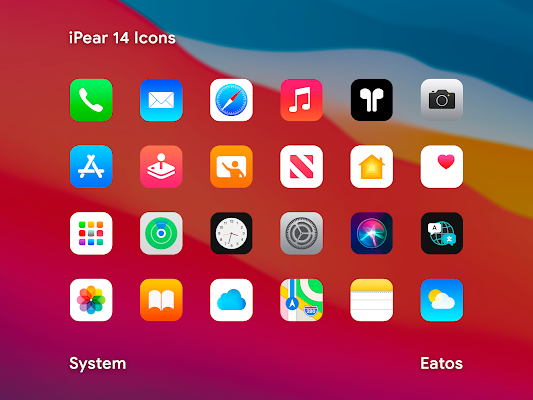 iPear 14 - Icon Pack Screenshot Image