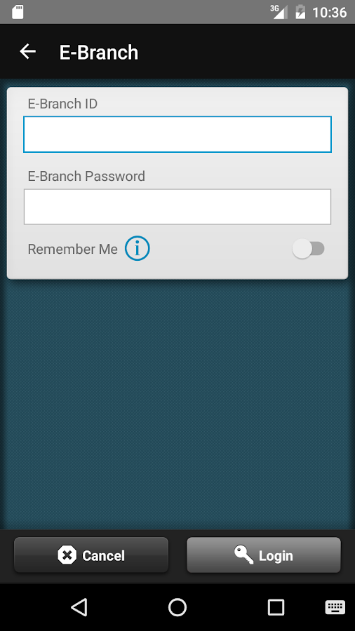 AFFCU E-BRANCH- screenshot