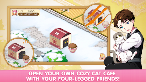 LINE Cat Cafu00e9 modavailable screenshots 4