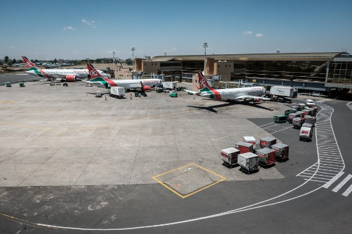 Jomo Kenyatta International Airport. File photo