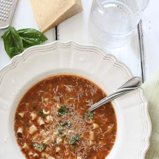 Pasta Fagioli (Pasta and Beans).