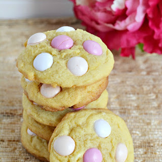 Strawberry Shortcake Pudding Cookies