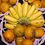 Banana Orange by Mulawardi Sutanto - Food & Drink Fruits & Vegetables ( banana, orange, rempoa, fruit, travel, home )