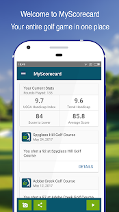 MyScorecard Golf Score Tracker- screenshot thumbnail