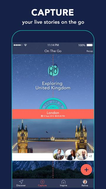 TraveLibro - Travel Stories- screenshot