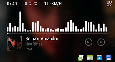 Bit Music - theme for CarWebGuru Launcher - Paid Android app | AppBrain