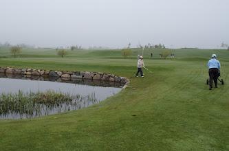 Photo: Dagen startede med tåge
