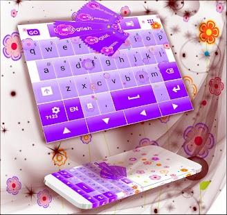 Květinová klávesnice - náhled