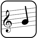 Compose sheet music icon