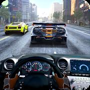 سباق في سيارة