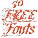 Fonts for FlipFont 50 11 icon