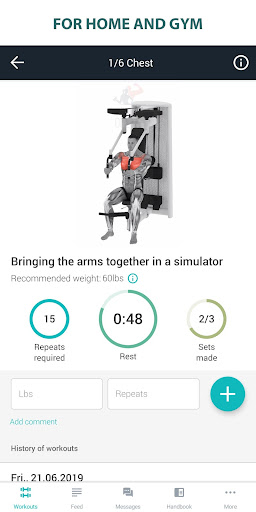 Fitness Online - weight loss workout app with diet ss3