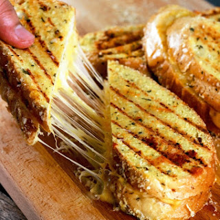 Mozzarella Grilled Cheese Garlic Recipes