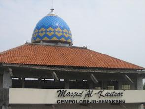 Photo: Kubah Masjid Al-Kautsar Cepolorejo Semarang Jawa Tengah