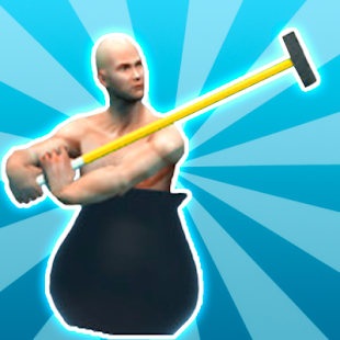 Getting Over It - hammer man - náhled