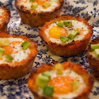 Hash Brown Egg Cups.