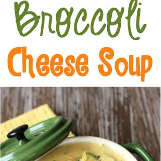 Crockpot Broccoli Cheese Soup.