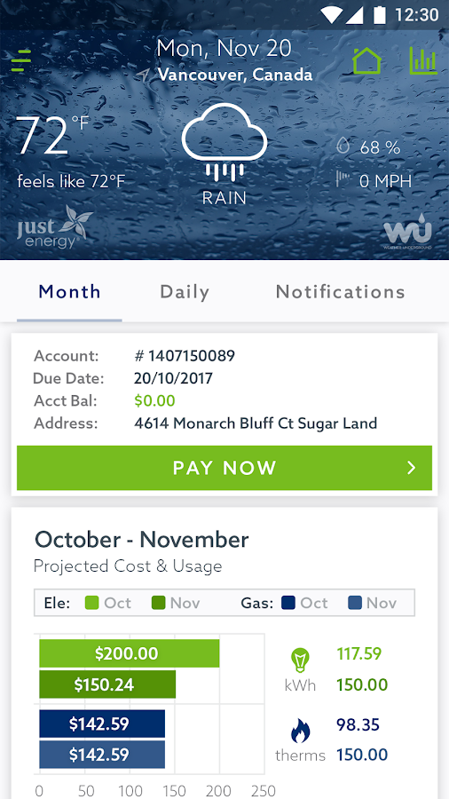 Energy Advisor- screenshot