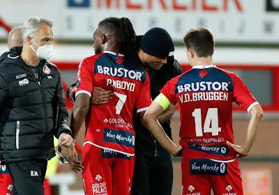 """Pelé Mboyo fataliste après la défaite contre Anderlecht: """"On ne méritait pas mieux"""""""