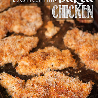Baked Buttermilk Chicken With Panko Recipes
