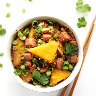 Pineapple and Ham Quinoa Stir Fry Recipe