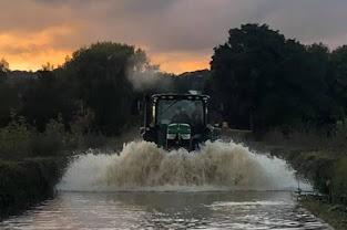 Heavy rain means flooding again for the Welshpool area - mywelshpool
