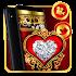 Red Diamond Gold Heart Theme 💖 1.1.0