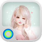 Pink Wink - Launcher Theme icon
