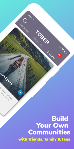 TUBBR (World's First Personal Social Network) Alpha 1.2.63 screenshots 2