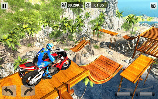 Bike Stunt Mega Tracks: Sky Ramp 1.0 screenshots 8