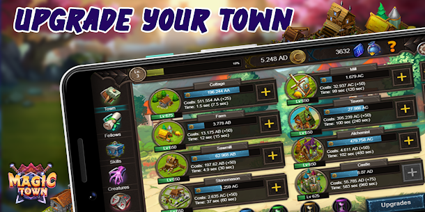 Idle Magic Town 1.0.2.3 APK Mod Updated 2