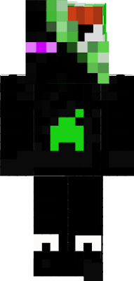 enderman mixed with creeper