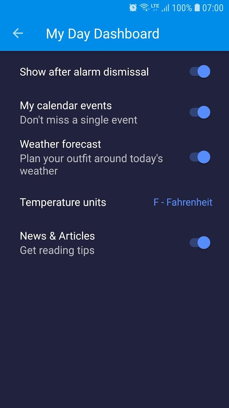 Alarm Clock Xtreme & Timer Screenshot 5