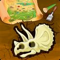 Dinosaur Bone Digging Games icon